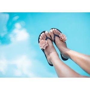 9e258be64ab0e Melissa Shoes - Melissa Harmonic Flower PVC Flip Flops 10